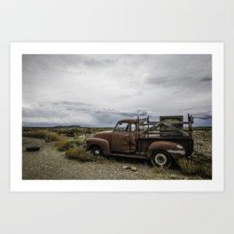 Taos Truck Art Print