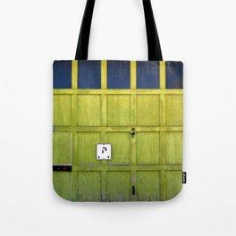 Garage Door Tote Bag