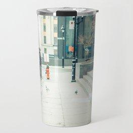 Montreal Taxi Travel Mug