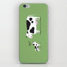 Cow dad iPhone & iPod Skin