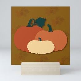 Harvest Pumpkins Mini Art Print