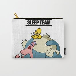 sleep team, with snorlax and patrick, Carry-All Pouch