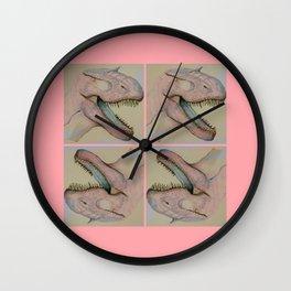 Jurassic party Wall Clock