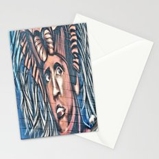 another birck head Stationery Cards