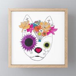 Devereux Sugar Skull 2 Framed Mini Art Print