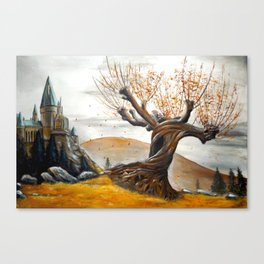 Whomping Willow Canvas Print