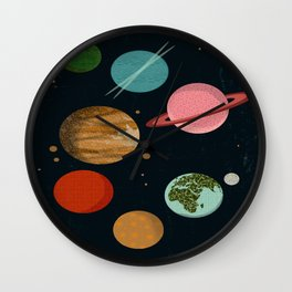 The Planets  Wall Clock