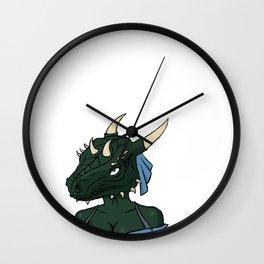 Lusty argonian maiden Wall Clock