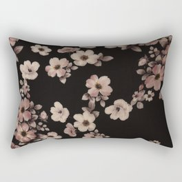 FLORAL PINK CHERRY BLOSSOM Rectangular Pillow