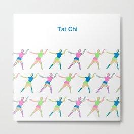 TaiChi Metal Print