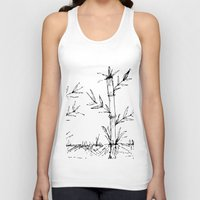 bamboo Tank Tops featuring bamboo by aticnomar