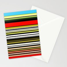 Red, blue and something in between. Stationery Cards