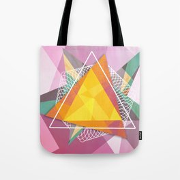 Tangled triangles Tote Bag