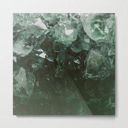 Emerald Gem Metal Print