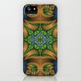 Fractal Ellipse iPhone Case