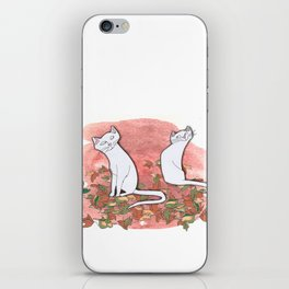 October Cats iPhone Skin