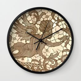 Lace Angel Wall Clock