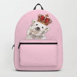 Prince Baby Polar Bear Backpack