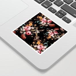 Midnight Garden IV Sticker