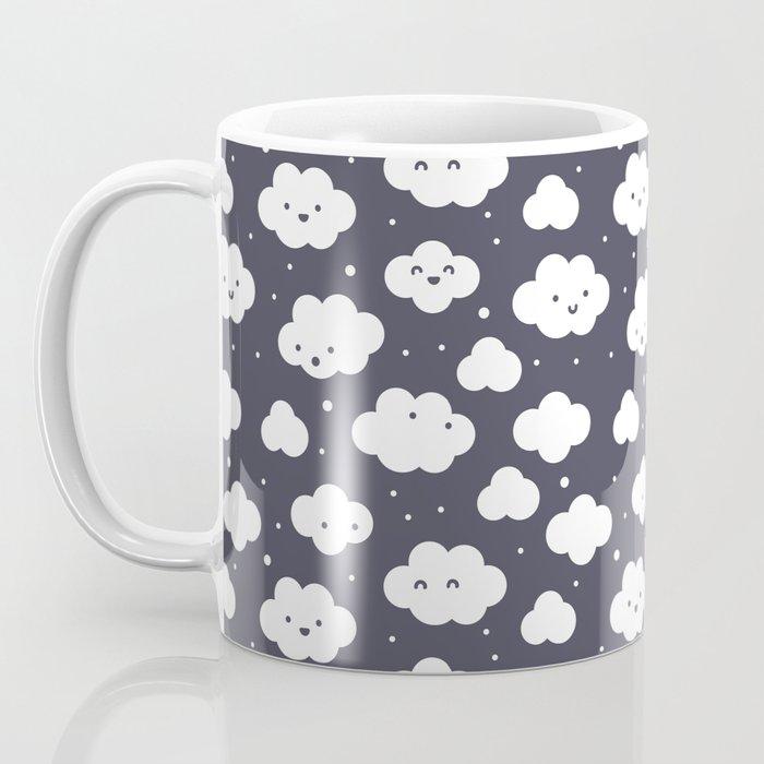 Happy clouds with snow Coffee Mug