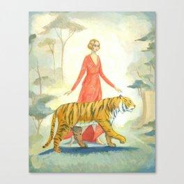 The Tiger's Bride Canvas Print