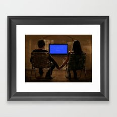 A Simpler Time Framed Art Print