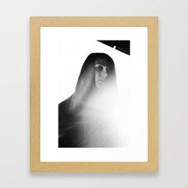 M. Study II Framed Art Print