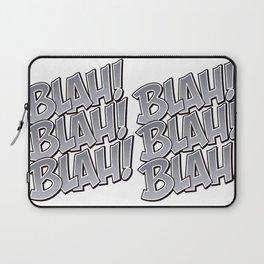 Comic Blah Laptop Sleeve