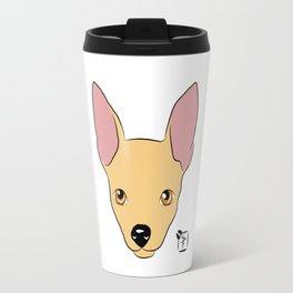 Chihuahua Face Travel Mug