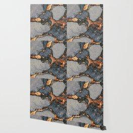 GEMSTONE GREY & GOLD Wallpaper