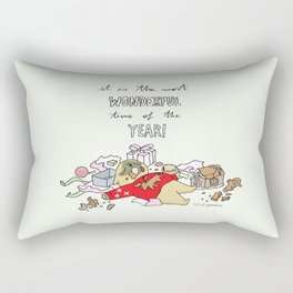 it is the most wonderful time of the year Rectangular Pillow
