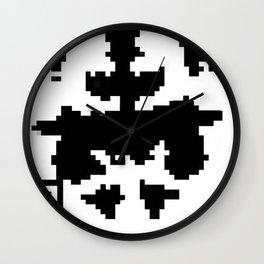 Modern Rorschach Test Wall Clock