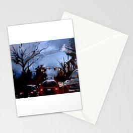 Rainy on 13th Stationery Cards