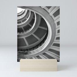 Semi circles Mini Art Print