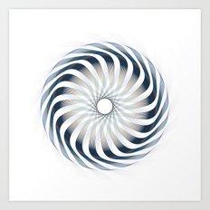 Circle Study No.6 Art Print