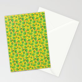 Cactus Me Outside (Yellow) Stationery Cards