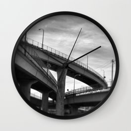 Ramps Two Wall Clock