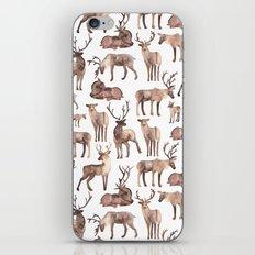 Christmas Reindeer.  iPhone & iPod Skin