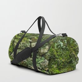 Green wall Duffle Bag
