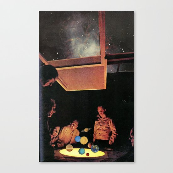 Colonists Canvas Print