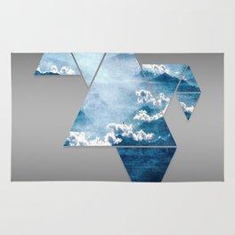Fragmented Clouds Rug