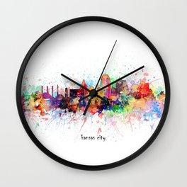 kansas city artistic Wall Clock