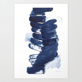 Indigo #7 Art Print