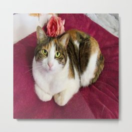 Antigone romantic kitty Metal Print