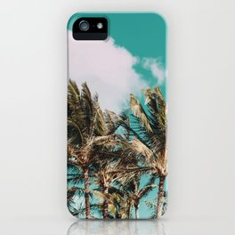 Palm Trees and Island Breeze iPhone Case