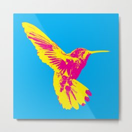 CMY Bird Metal Print