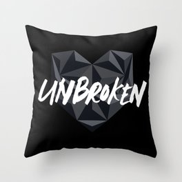 Unbroken Throw Pillow
