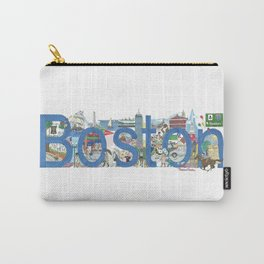 Boston - Cityscapes by Stephanie Hessler Carry-All Pouch
