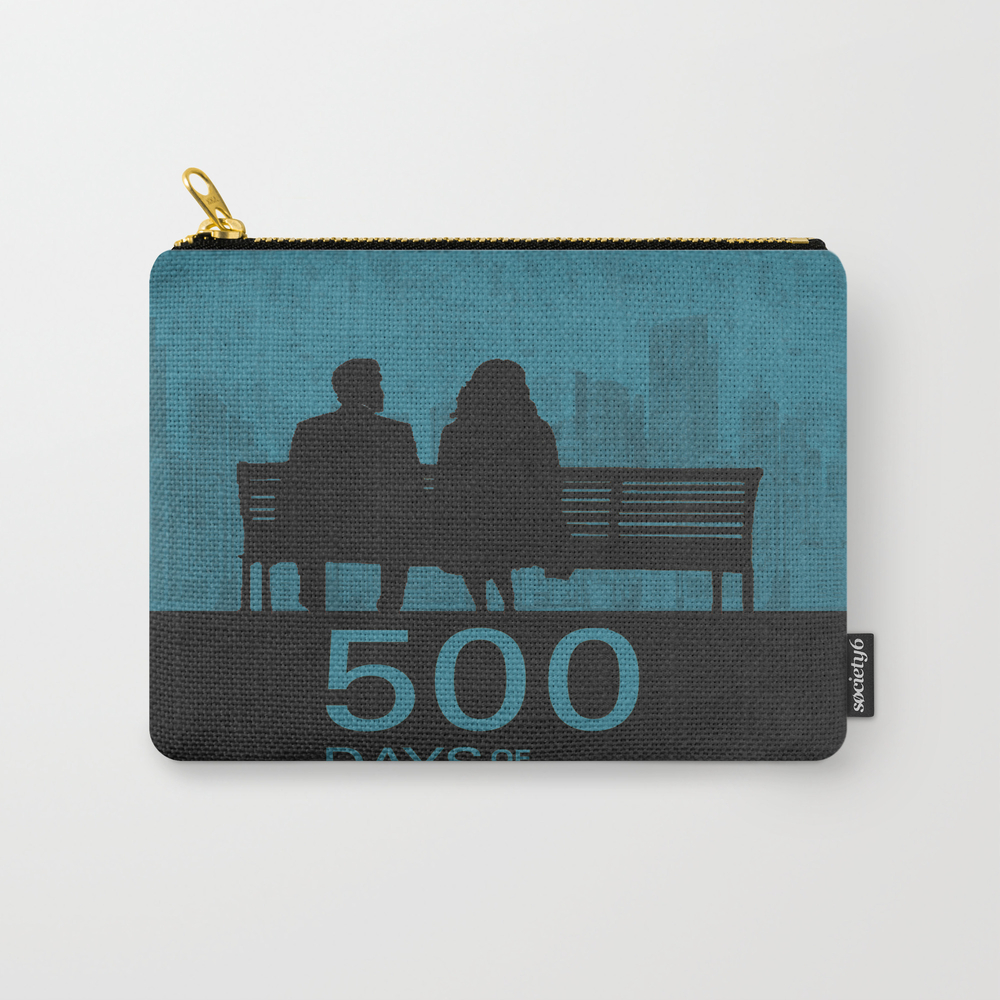 500 Days Of Summer 01 Carry-all Pouch by Miserym CAP8760071