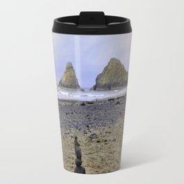 Heceta Head - Autumn At The Beach Travel Mug